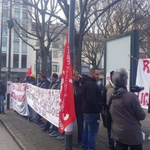 Solidarity with AICE workers in Indonesia from SI COBAS, Italy